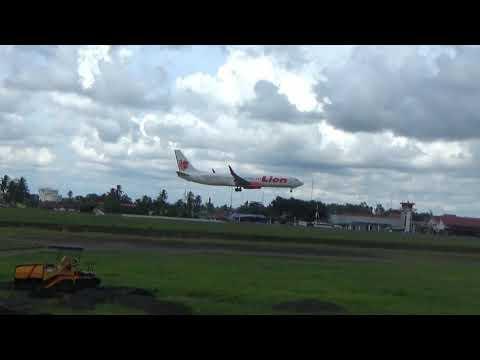 Landing Take Off Syamsudin Noor Airport Banjarmasin