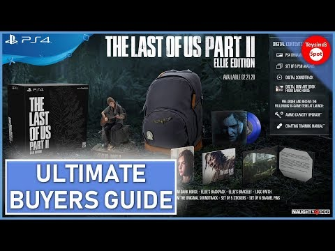 The Last Of Us Part 2 Complete Buyers Guide - Ellie Edition, Collectors Edition, Special Edition Etc