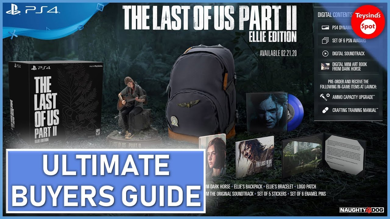 The Last of Us Part II: Complete Preorder Guide
