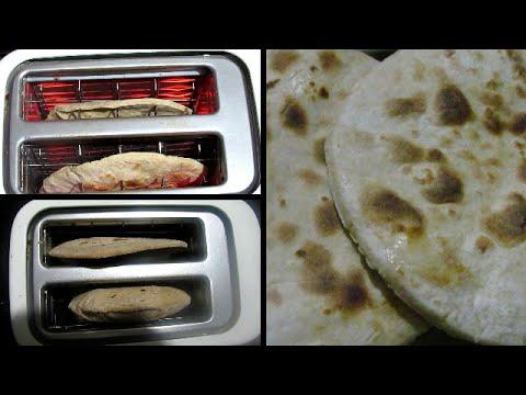 How to make Tandoori Roti in a Toaster | Toaster Roti | Homemade Tandoori Roti