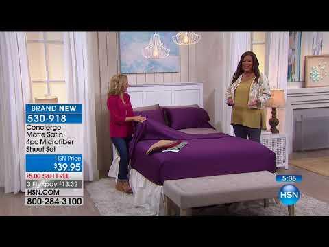 HSN | Concierge Collection Bedding 08.18.2017 - 04 AM
