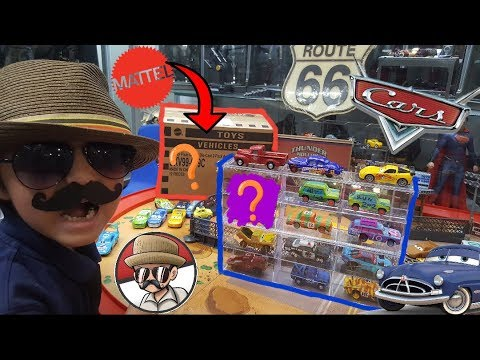 Shopping At CARLS Opening A Whole Box Of NEW DISNEY CARS TOYS - Carl's cool cars