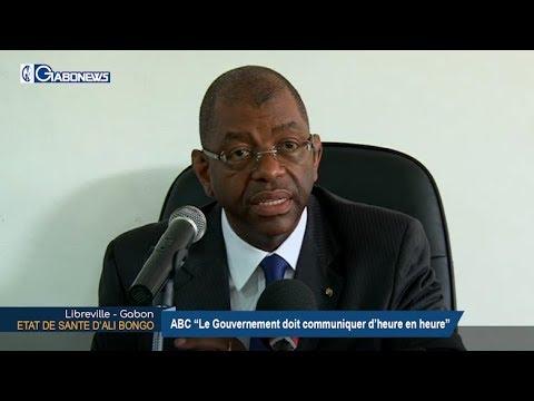GABON / POLITIQUE : ABC parle de l'état de santé d'Ali BONGO ONDIMBA