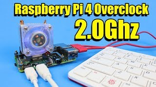 How to Overclock Raspberry Pi 4 To 2.0Ghz! All 4 Cores - With Benchmarks