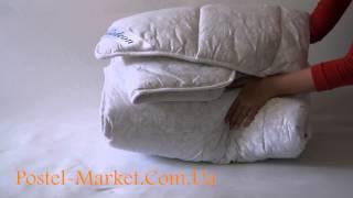 Обзор одеяла из альпийской шерсти Gedeon(Одеяло с наполнителем из овечьей шерсти. Упаковано в полиэтиленовую сумку, плотность 400 гр/м2: http://postel-market.com.u..., 2014-05-08T13:15:20.000Z)