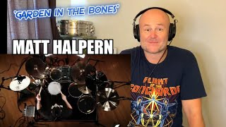 Drum Teacher Reacts: MATT HALPERN   Periphery - 'Garden In The Bones'   (2021 Reaction)