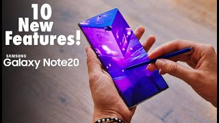 Samsung Galaxy Note 20 / Note 20 Ultra - TOP 10 FEATURES!