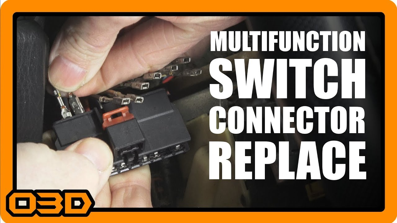 small resolution of project 2004 jeep wrangler tj multifunction switch wiring harness connector replacement