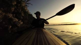 Lake Shawnee KS   Sunrise Paddle, Bad Seamstress Blues by Cinderella