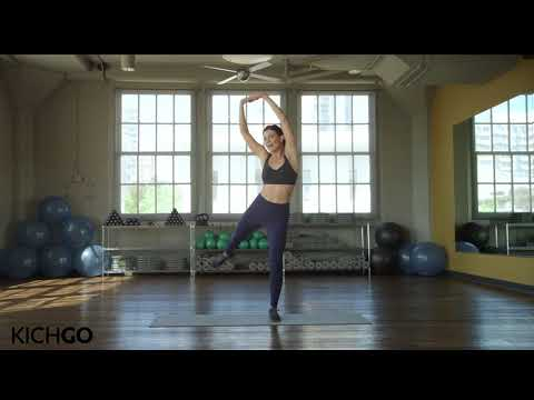 30 minute total body medium intensity workout with celeb trainer Kit Rich