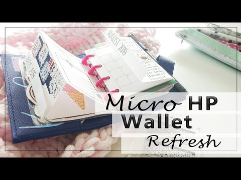 MICRO Happy Notes REFRESH  |  Travel Wallet Re-do |  Krodesigns
