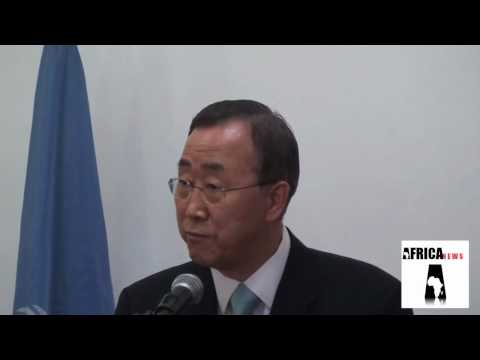 UN s-g in Malawi parliament press speech