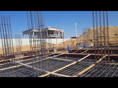 Dubai foundation work