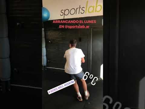 Guido Pella entrena en Buenos Aires y piensa en el US Open