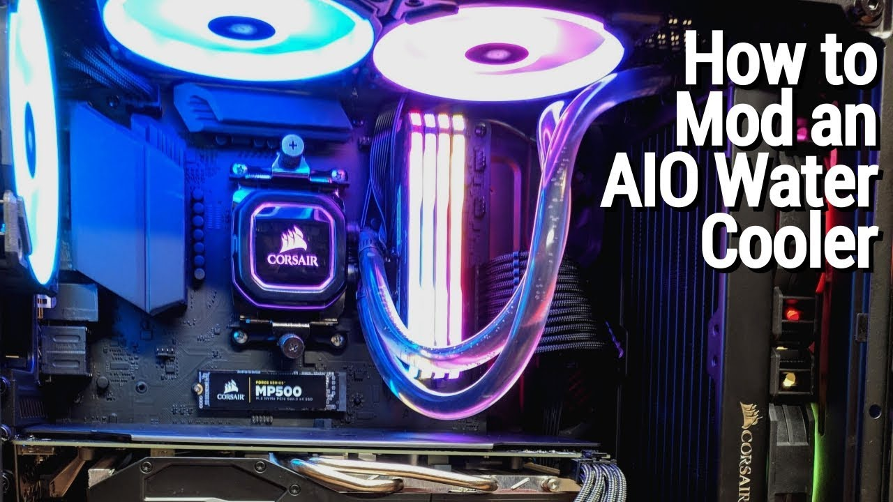 How to mod an AIO water cooler!