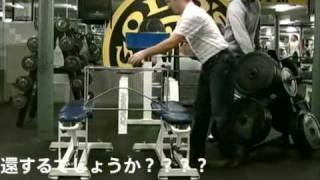 ZAGGインヴィジブルシールド、強度テスト IN ゴールドジム|ZAGG sprojet japan