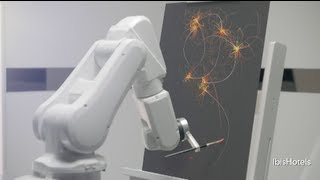 Robots Draw Hotel Guests While They Sleep