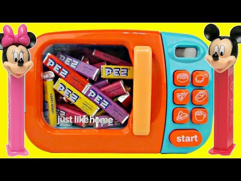 MICKEY MOUSE PEZ DISPENSERS with Magic Microwave | Toys Unlimited