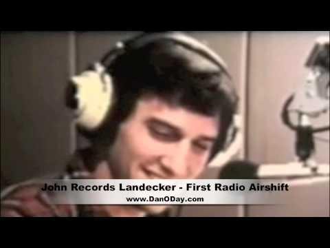 JOHN LANDECKER'S FIRST RADIO AIR SHIFT, 1966 - ANN ARBOR MI