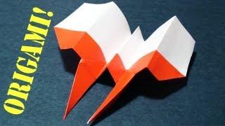 Origami Hawkeye Plane!