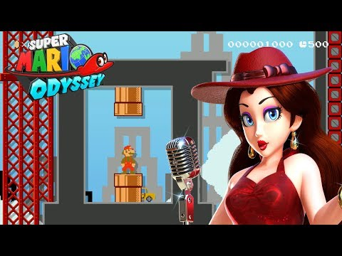 New Donk City Festival Remade in Super Mario Maker (Super Mario Odyssey)