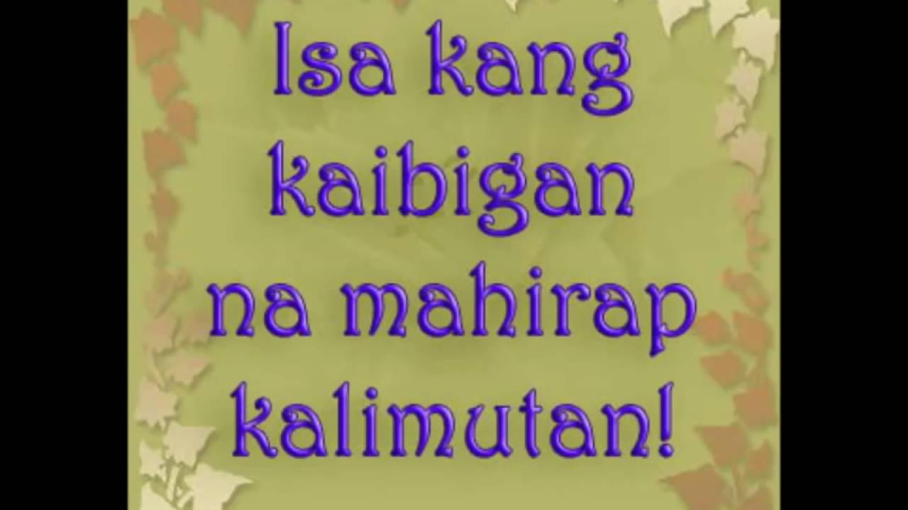 Kaibigan Quotes Youtube