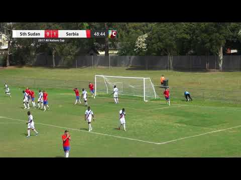 2017 ANC - South Sudan v Serbia