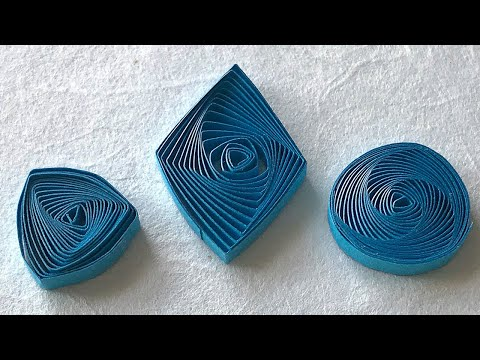 How to Make Vortex Coils - Quilling Tutorial