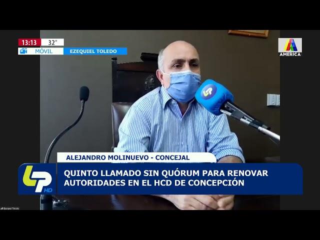 Quinto llamado sin quórum para renovar autoridades en el HCD de Concepción