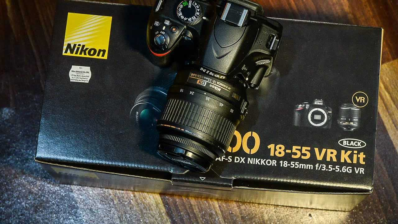 how to take video nikon d3200