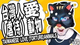 台灣人愛(虐待)動物?TAIWANESE LOVES (TORTURE) ANIMALS?