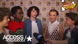 'Stranger Things' Cast Weighs In On New Trailer & Millie Bobby Brown's Emmy Nomination
