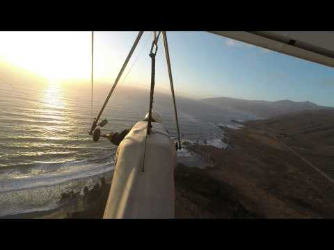 BigSur Sunset Flight - 2014 09 27