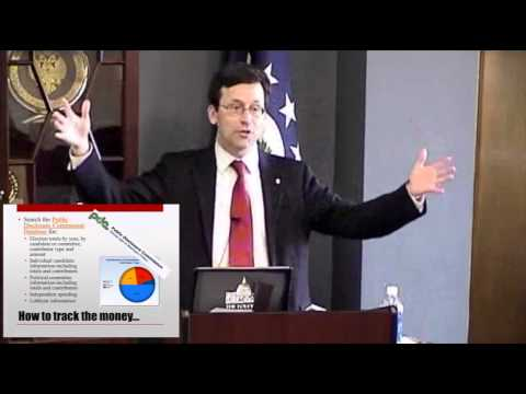 """Following the Money: Accountability in Campaign Finance"" with WA Attorney General Bob Ferguson"