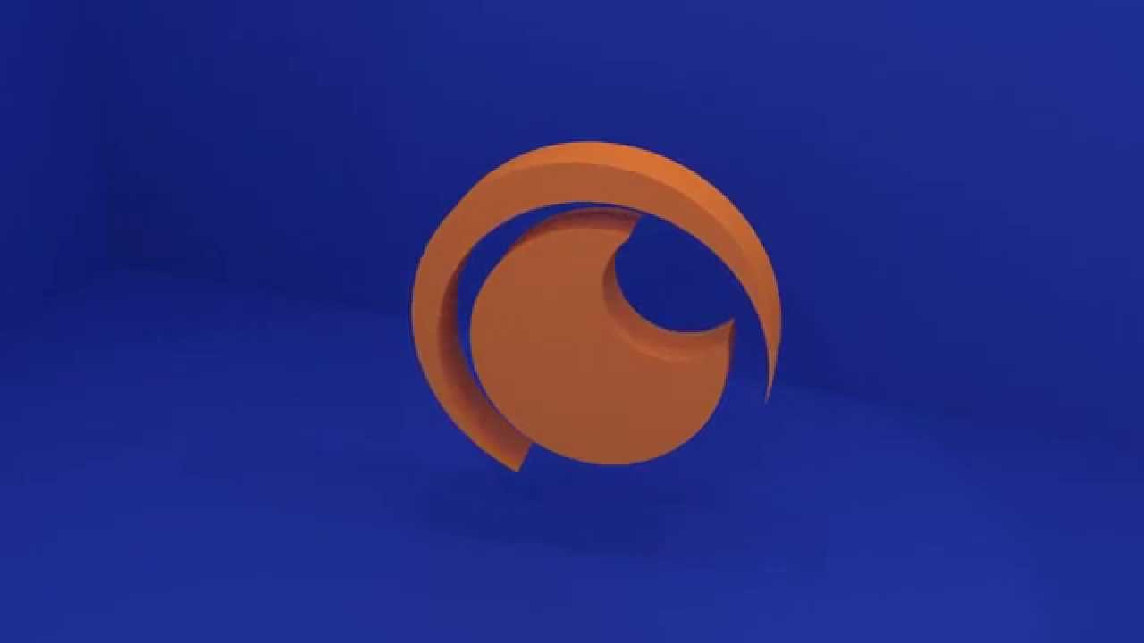 Crunchyroll Logo Spin
