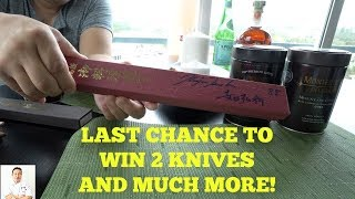 Knife and Other Giveaways Details Here | Subscribe, Comment, Like and Win