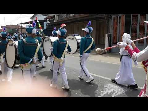 GIN MTs PUI Cikijing dalam Karnaval HUT RI Ke-72
