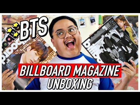 [UNBOXING] BTS Billboard Magazine Box Set (PERFECTION) | KPOPAMOO