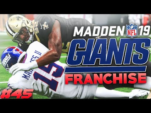 Patrick Mahomes is Back Madden 19 New York Giants Franchise Ep. 45