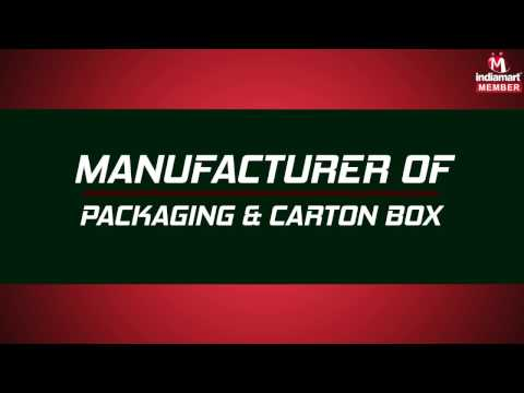 Packaging And Carton Box By Shree Hariharan Enterprises, Chennai