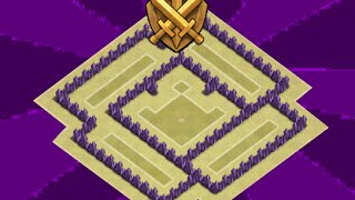 Clash Of Clans - th5 trophy base | war base | ANTI GIANTS | speed build