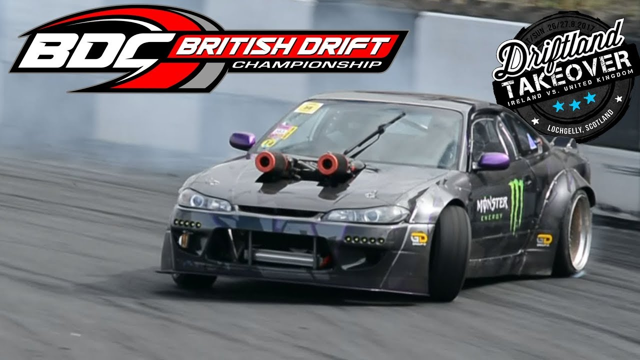 British Drift Championship Round Drift Land Bdc Youtube