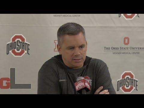 Ohio State men's basketball head coach Chris Holtmann - Jan. 16, 2018 press conference