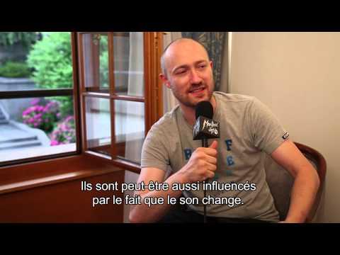 Interview - Paul Kalkbrenner   Montreux Jazz Festival 2013