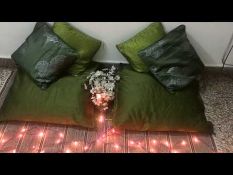 DIY Cushion Cover from curtain | 5 minute craft