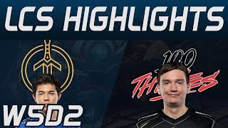 100 vs GG Highlights LCS Spring 2020 W5D2 100Thieves vs Golden Guardians LCS Highlights 2020 by Oniv