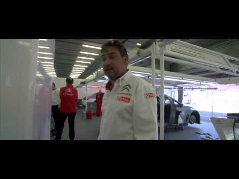 WTCC Lessons - Visit Citroën Racing' garage with Daniel Elena!