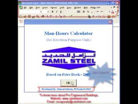 Man-Hour Calculator - Youtube