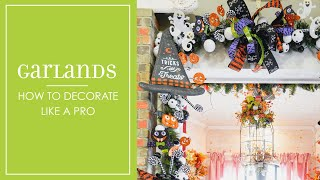 Halloween Garlands:  How To Decorate Like a Pro!