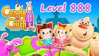 Candy Crush Soda Saga Level 888 (NO BOOSTERS)